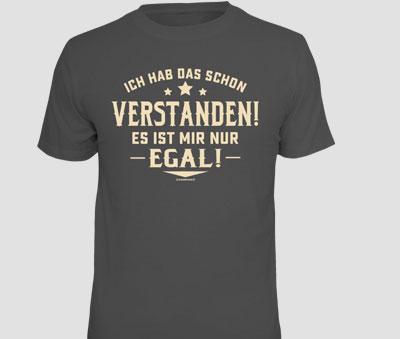 Verstanden Aber Egal (T Shirt)