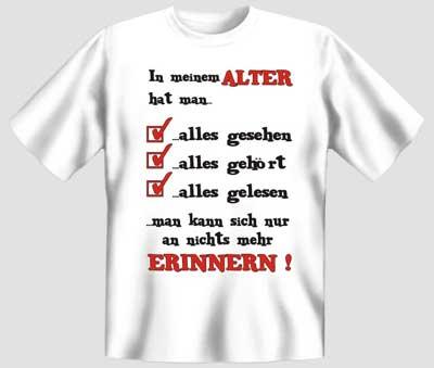In Meinem Alter (T Shirt)
